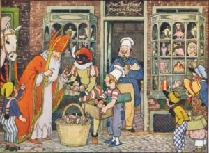 Sinterklaas en ZwartePiet