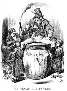 Anti-Irish propaganda from Punch magazine, published in December 1867.