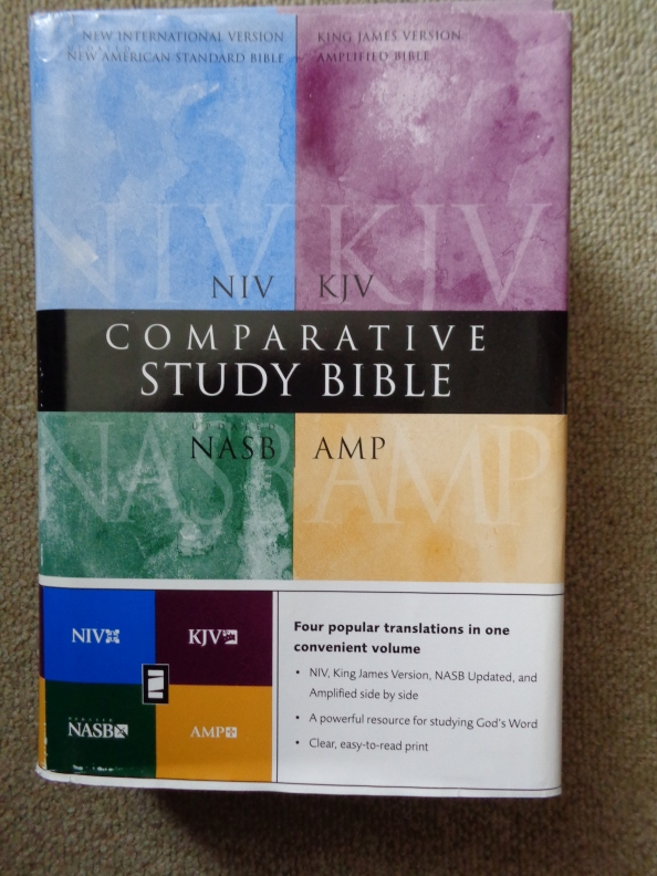 Comparative Study Bible NIV_KJV_NASB_AMP