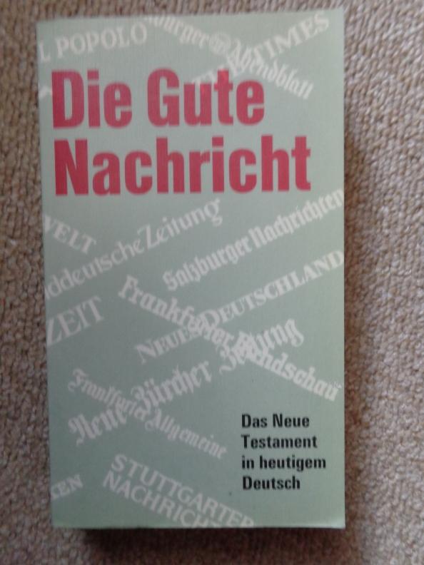 die Gute Nachricht Deutsche Bibelgeselschaft 1982