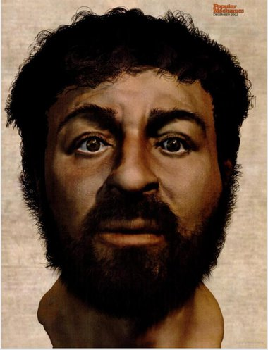 British scientists have stitched together (in 2015) what they say is probably most accurate image of Jesus Christ's real face.