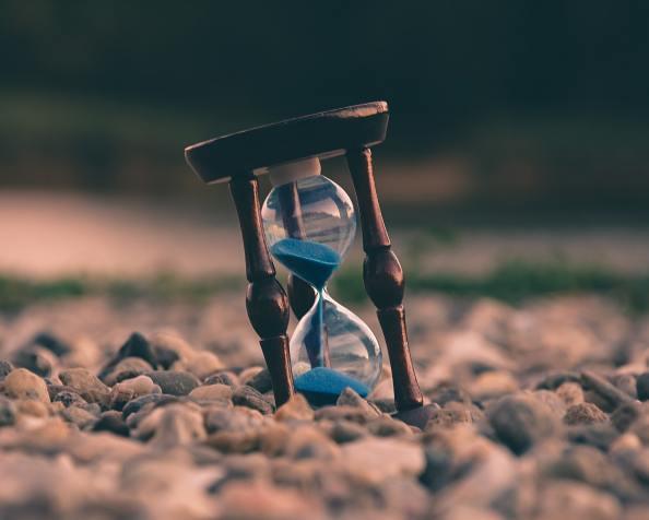 Als de tijd ten einde loopt …… Slechts een klein deelgered